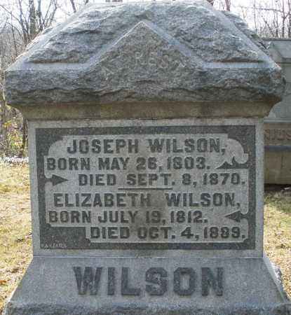 WILSON, JOSEPH - Preble County, Ohio | JOSEPH WILSON - Ohio Gravestone Photos