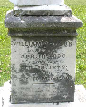 WILSON, WILLIAM - Preble County, Ohio | WILLIAM WILSON - Ohio Gravestone Photos