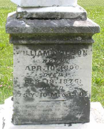 WILSON, WILLIAM - Preble County, Ohio | WILLIAM WILSON - Ohio Gravestone Photos