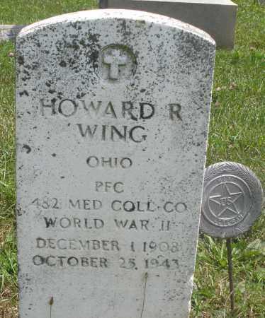 WING, HOWARD R. - Preble County, Ohio | HOWARD R. WING - Ohio Gravestone Photos