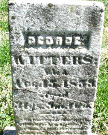 WITTERS, GEORGE - Preble County, Ohio | GEORGE WITTERS - Ohio Gravestone Photos