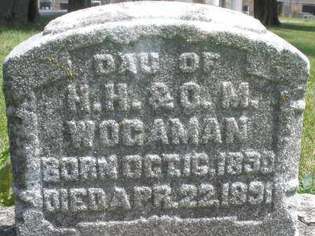 WOGAMAN, DAUGHTER - Preble County, Ohio | DAUGHTER WOGAMAN - Ohio Gravestone Photos