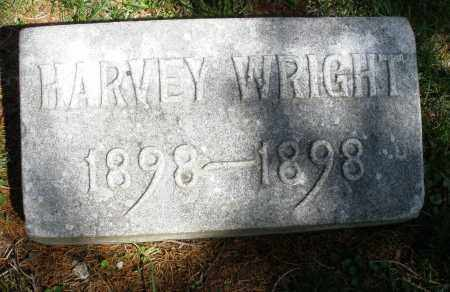 WRIGHT, HARVEY - Preble County, Ohio | HARVEY WRIGHT - Ohio Gravestone Photos
