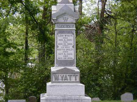 WYATT, MARTHA DURLEY - Preble County, Ohio | MARTHA DURLEY WYATT - Ohio Gravestone Photos