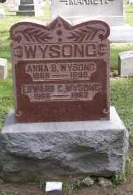 WYSONG, EDWARD C. - Preble County, Ohio | EDWARD C. WYSONG - Ohio Gravestone Photos