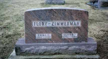 ZIMMERMAN, OLIVER D. - Preble County, Ohio | OLIVER D. ZIMMERMAN - Ohio Gravestone Photos