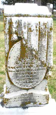 ZIMMERSON, CAROLINE - Preble County, Ohio   CAROLINE ZIMMERSON - Ohio Gravestone Photos