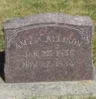 ALLISON, AMY A. - Putnam County, Ohio   AMY A. ALLISON - Ohio Gravestone Photos
