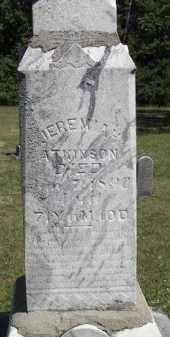 ATKINSON, JEREMIAH - Putnam County, Ohio | JEREMIAH ATKINSON - Ohio Gravestone Photos