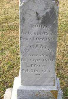 BURRI, A. MARIA - Putnam County, Ohio | A. MARIA BURRI - Ohio Gravestone Photos