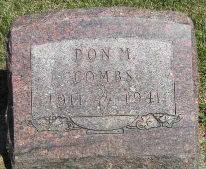 COMBS, DON M. - Putnam County, Ohio | DON M. COMBS - Ohio Gravestone Photos