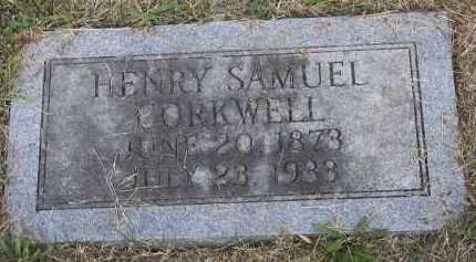 CORKWELL, HENRY SAMUEL - Putnam County, Ohio | HENRY SAMUEL CORKWELL - Ohio Gravestone Photos