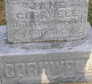 CORKWELL, JANE - Putnam County, Ohio | JANE CORKWELL - Ohio Gravestone Photos