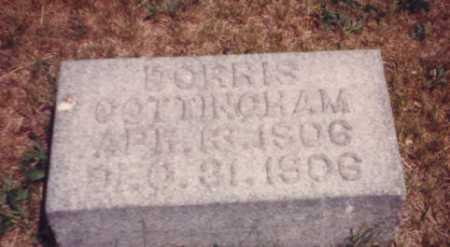 COTTINGHAM, DORRIS - Putnam County, Ohio | DORRIS COTTINGHAM - Ohio Gravestone Photos