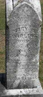 DARLING, MARY - Putnam County, Ohio | MARY DARLING - Ohio Gravestone Photos