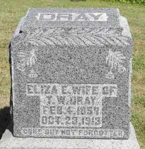 DRAY, ELIZA E. - Putnam County, Ohio | ELIZA E. DRAY - Ohio Gravestone Photos