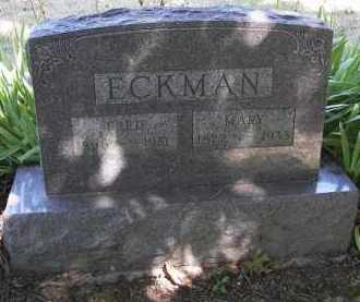 ECKMAN, MARY - Putnam County, Ohio | MARY ECKMAN - Ohio Gravestone Photos