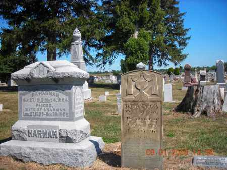 HARMAN, PHEBE - Putnam County, Ohio | PHEBE HARMAN - Ohio Gravestone Photos