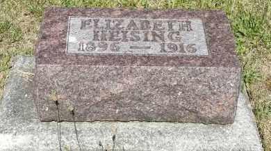 HEISING, ELIZABETH - Putnam County, Ohio | ELIZABETH HEISING - Ohio Gravestone Photos