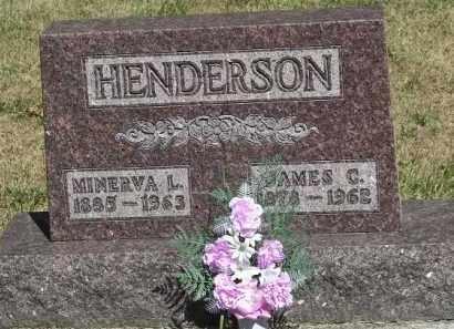 HENDERSON, MINERVA L - Putnam County, Ohio | MINERVA L HENDERSON - Ohio Gravestone Photos