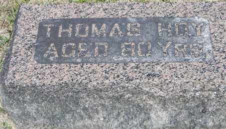 HOY, THOMAS - Putnam County, Ohio | THOMAS HOY - Ohio Gravestone Photos