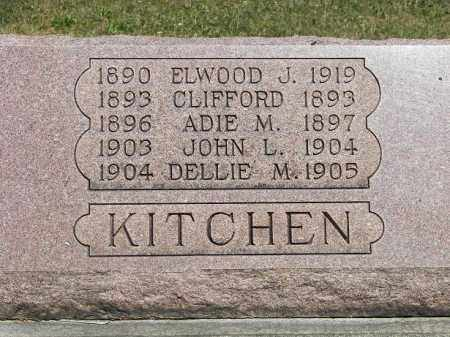KITCHEN, CLIFFORD - Putnam County, Ohio | CLIFFORD KITCHEN - Ohio Gravestone Photos