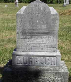 MURBACH, JACOB - Putnam County, Ohio | JACOB MURBACH - Ohio Gravestone Photos
