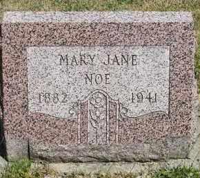 NOE, MARY JANE - Putnam County, Ohio | MARY JANE NOE - Ohio Gravestone Photos