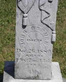 OSBURN, JOHN - Putnam County, Ohio | JOHN OSBURN - Ohio Gravestone Photos