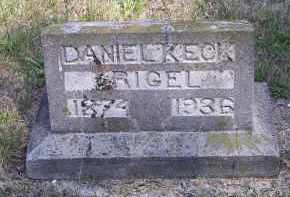 RIGEL, DANIEL KECK - Putnam County, Ohio | DANIEL KECK RIGEL - Ohio Gravestone Photos