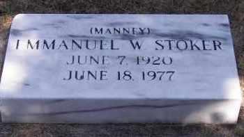 STOKER, EMMANUEL W. - Putnam County, Ohio | EMMANUEL W. STOKER - Ohio Gravestone Photos