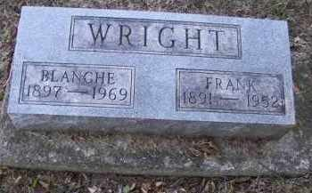 WRIGHT, BLANCHE - Putnam County, Ohio | BLANCHE WRIGHT - Ohio Gravestone Photos