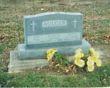 "AULGER, MARY EVELYN ""EVA"" - Richland County, Ohio 