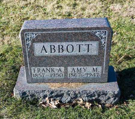 ABBOTT, FRANK A - Richland County, Ohio | FRANK A ABBOTT - Ohio Gravestone Photos