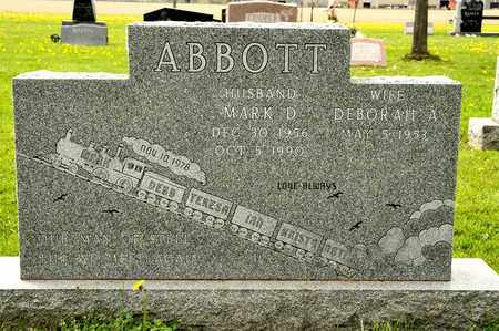 ABBOTT, MARK D - Richland County, Ohio | MARK D ABBOTT - Ohio Gravestone Photos