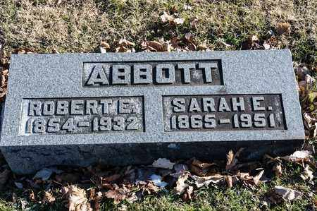 ABBOTT, SARAH E - Richland County, Ohio | SARAH E ABBOTT - Ohio Gravestone Photos