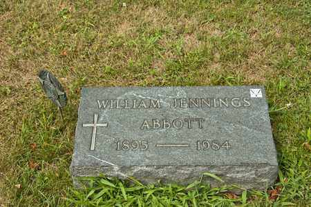 ABBOTT, WILLIAM JENNINGS - Richland County, Ohio | WILLIAM JENNINGS ABBOTT - Ohio Gravestone Photos