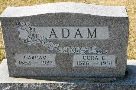 ADAM, CORA E - Richland County, Ohio | CORA E ADAM - Ohio Gravestone Photos