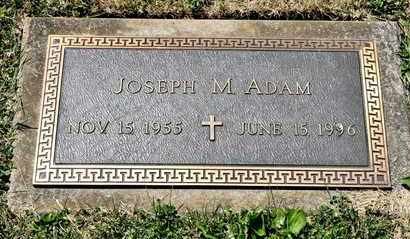 ADAM, JOSEPH M - Richland County, Ohio | JOSEPH M ADAM - Ohio Gravestone Photos