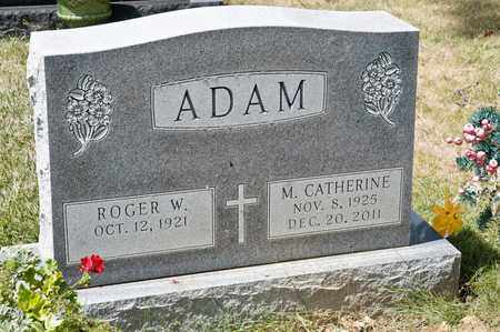 ADAM, M CATHERINE - Richland County, Ohio | M CATHERINE ADAM - Ohio Gravestone Photos