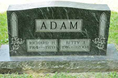 ADAM, RICHARD H - Richland County, Ohio | RICHARD H ADAM - Ohio Gravestone Photos