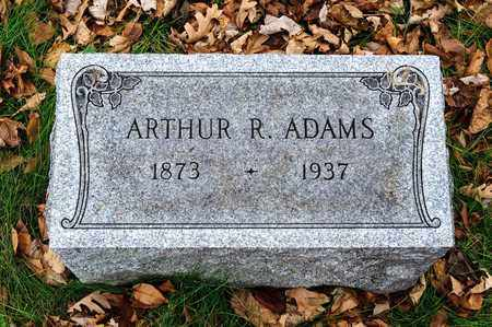 ADAMS, ARTHUR R - Richland County, Ohio | ARTHUR R ADAMS - Ohio Gravestone Photos