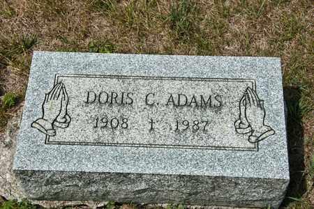 ADAMS, DORIS C - Richland County, Ohio | DORIS C ADAMS - Ohio Gravestone Photos