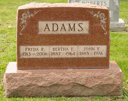ADAMS, FREDA R - Richland County, Ohio | FREDA R ADAMS - Ohio Gravestone Photos