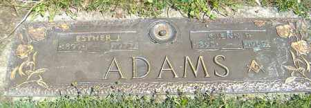 ADAMS, GLENN PAXTON - Richland County, Ohio | GLENN PAXTON ADAMS - Ohio Gravestone Photos