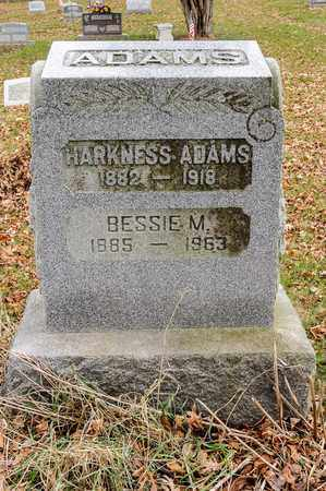 ADAMS, HARKNESS - Richland County, Ohio | HARKNESS ADAMS - Ohio Gravestone Photos