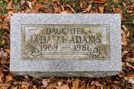 ADAMS, IADA M - Richland County, Ohio | IADA M ADAMS - Ohio Gravestone Photos