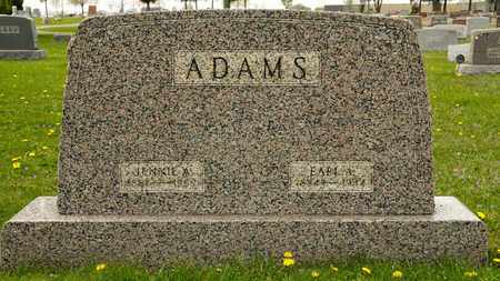 ADAMS, EARL A - Richland County, Ohio | EARL A ADAMS - Ohio Gravestone Photos