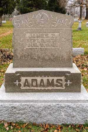 ADAMS, JAMES Z - Richland County, Ohio | JAMES Z ADAMS - Ohio Gravestone Photos