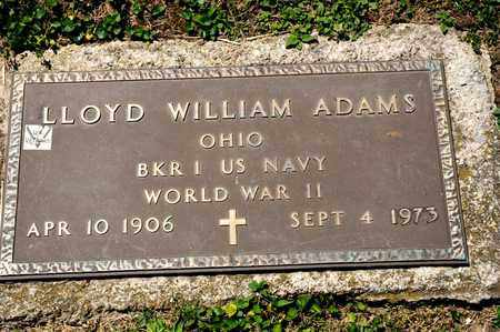 ADAMS, LLOYD WILLIAM - Richland County, Ohio | LLOYD WILLIAM ADAMS - Ohio Gravestone Photos